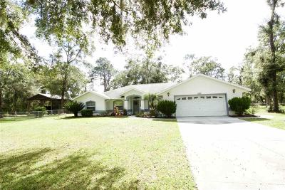 Chiefland Single Family Home For Sale: 5150 NW 73rd Street