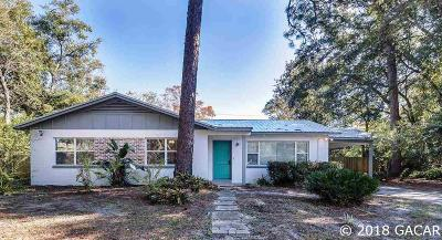 Gainesville Single Family Home For Sale: 1519 NE 13TH Street