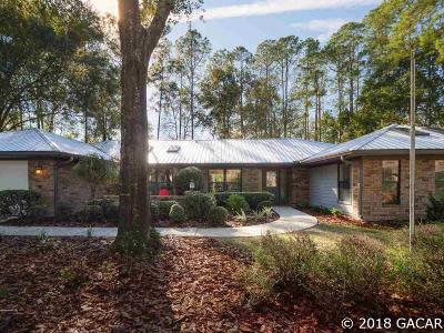 Gainesville Single Family Home For Sale: 3929 NW 20th Lane