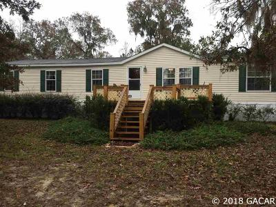 High Springs Single Family Home For Sale: 7001 NE 24th Loop