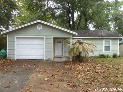 Gainesville Single Family Home For Sale: 1712 NW 31st Place