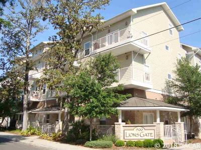 Gainesville Condo/Townhouse For Sale: 1500 NW 4th Avenue #208