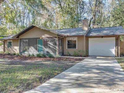 Gainesville Single Family Home For Sale: 3724 NW 53rd Terrace