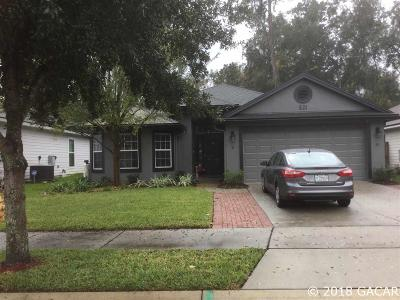 Gainesville FL Single Family Home For Sale: $230,000