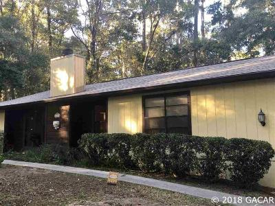 Gainesville Single Family Home For Sale: 2826 NW 16 Avenue