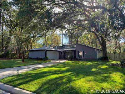 Gainesville Single Family Home For Sale: 5115 NW 64 Boulevard