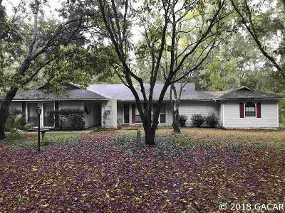 Gainesville Single Family Home For Sale: 9419 SW 67TH Drive