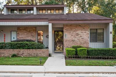 Gainesville Condo/Townhouse For Sale: 3931 NW 29TH Lane