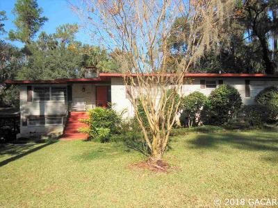 Gainesville Single Family Home For Sale: 2844 NW 4th Lane