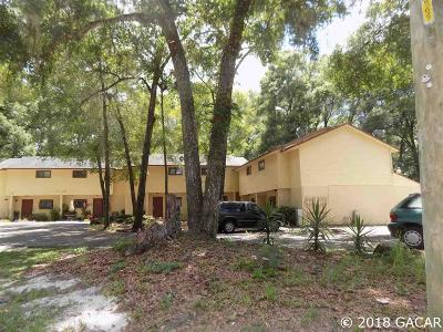 Gainesville Multi Family Home For Sale: 1110 SW 62 Terrace #A,B,C,D,