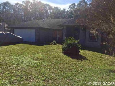 Gainesville FL Single Family Home For Sale: $257,500