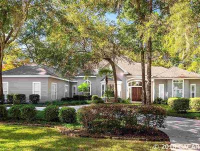 Gainesville FL Single Family Home For Sale: $520,000