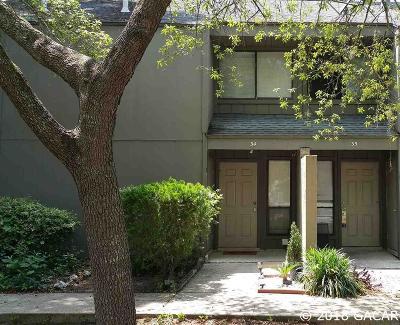 Gainesville Condo/Townhouse For Sale: 7200 SW 8th Avenue #F-34