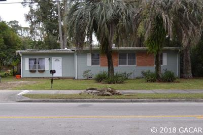 Gainesville Single Family Home For Sale: 915 NE 8 Avenue
