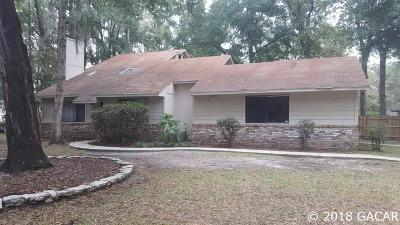Gainesville Single Family Home For Sale: 3417 NW 49th Terrace