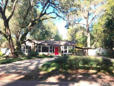 Gainesville Single Family Home For Sale: 1104 NW 14 Avenue