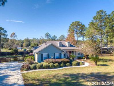 High Springs Single Family Home For Sale: 16228 NW 206th Drive