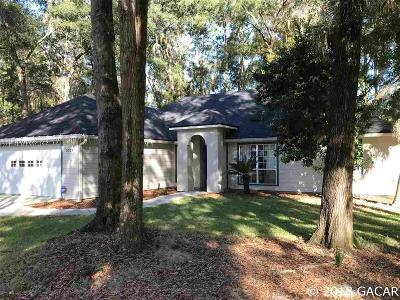 Gainesville Single Family Home For Sale: 5324 NW 32ND Lane