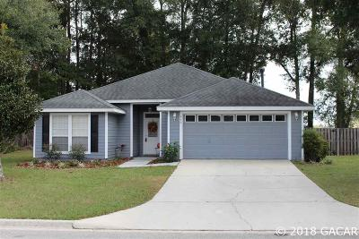 Newberry Single Family Home For Sale: 959 NW 254th Dr Drive