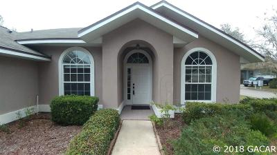 Gainesville Single Family Home For Sale: 6120 NW 35th Terrace