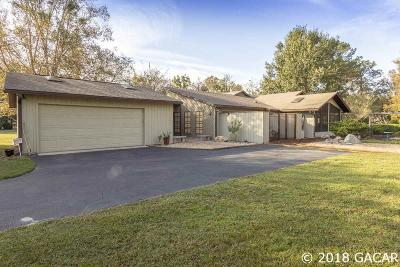 Micanopy Single Family Home Pending: 10310 SW 8th Terrace
