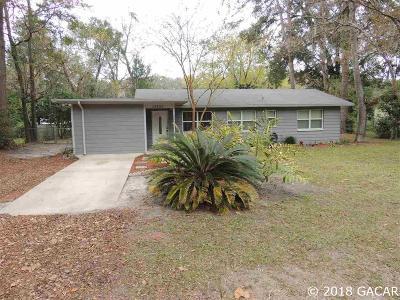 Alachua Single Family Home For Sale: 13422 NW 145TH Avenue