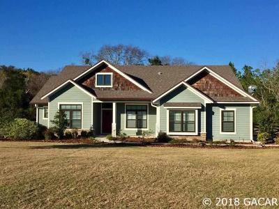 High Springs Single Family Home For Sale: 25578 NW 177 Lane