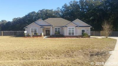 High Springs Single Family Home For Sale: 24934 NW 170th Road