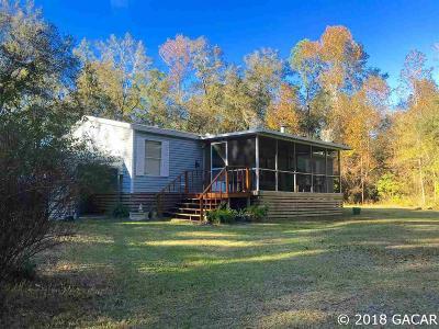 Alachua Single Family Home For Sale: 4006 NW 243 Avenue