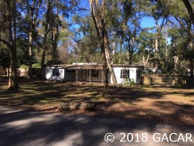 Gainesville Single Family Home For Sale: 6730 SW 54th Avenue
