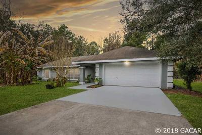 Newberry Single Family Home Pending: 4024 NW 170th Street