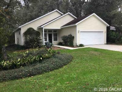 Alachua Single Family Home For Sale: 6750 NW 113th Lane