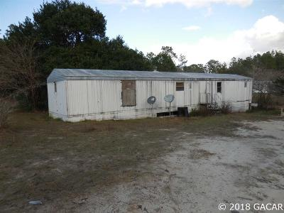 Williston FL Single Family Home For Sale: $29,500