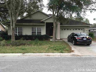 Gainesville Single Family Home For Sale: 4345 NW 36th Drive