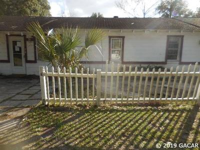 Gainesville Single Family Home For Sale: 1405 SE 4th Avenue