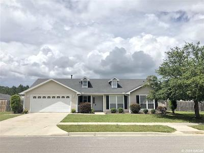 Newberry Single Family Home For Sale: 25630 NW 9TH