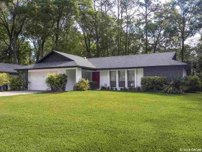 Gainesville Single Family Home For Sale: 4213 NW 67 Terrace