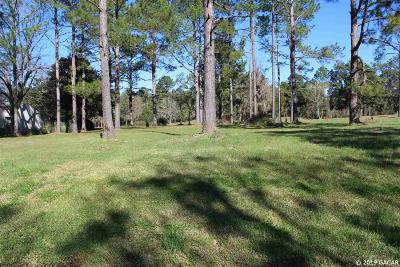Alachua Residential Lots & Land For Sale: NW 115 Lane