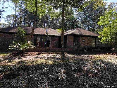 Gainesville Single Family Home For Sale: 3705 NW 25th Avenue