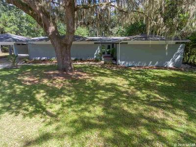 Gainesville Single Family Home For Sale: 1805 NW 22 Street