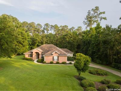 Gainesville Single Family Home For Sale: 10917 NW 18th Court