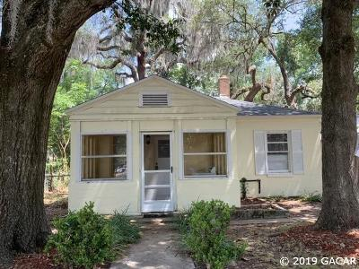 Gainesville Single Family Home For Sale: 1208 NW 21ST Avenue