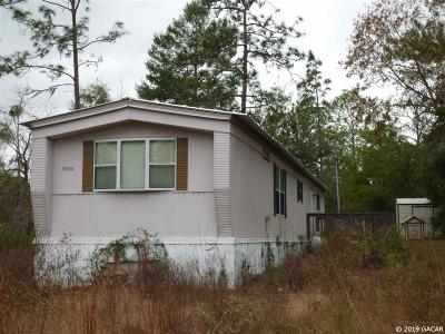 Williston FL Single Family Home For Sale: $34,500