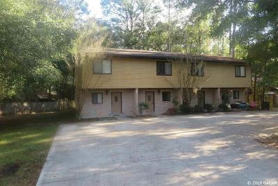 Gainesville Condo/Townhouse For Sale: 4617 SW 69TH Terrace