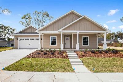 Alachua Single Family Home For Sale: 16818 NW 166th Drive
