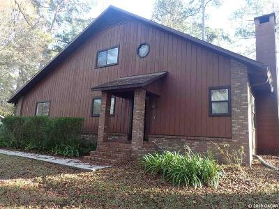 Gainesville Single Family Home For Sale: 10315 NW 25 Place