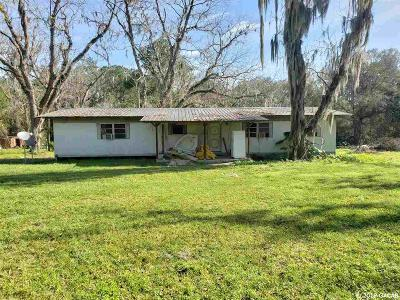 Hawthorne Single Family Home For Sale: 2617 SE County Road 219