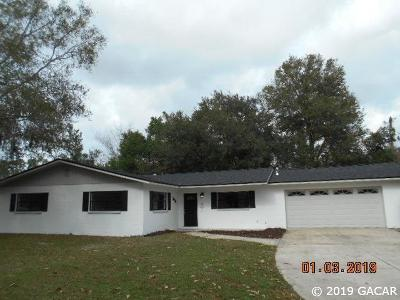 Gainesville Single Family Home For Sale: 3658 NW 39 Place