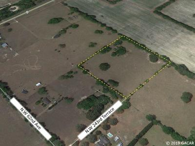Alachua Residential Lots & Land For Sale: 6406 NW 243 Terrace