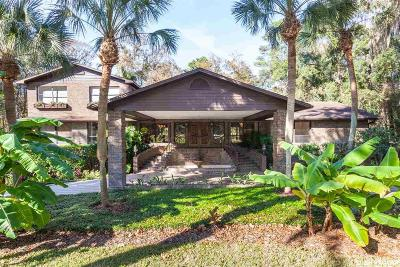Alachua Single Family Home For Sale: 11108 Palmetto Boulevard